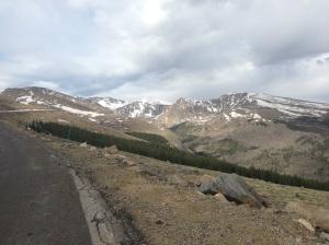 Mt Evans in the distance