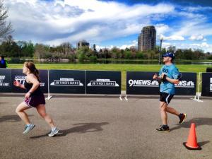I ran the colfax 1/2 marathon in 2:06