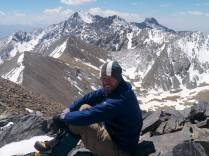 Me enjoying the summit