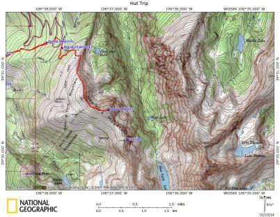 NY Mountain Map