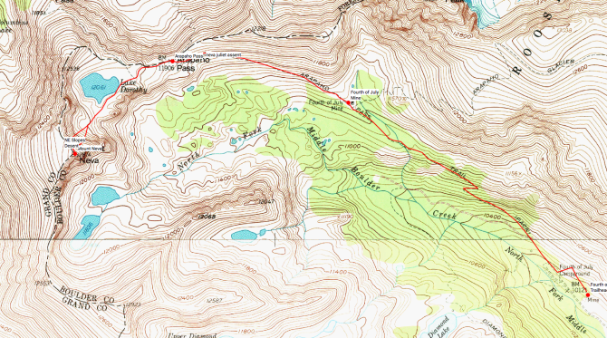 Click for interactive map and downloadable GPS route
