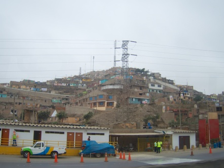 Squalor on the outskirts of Lima