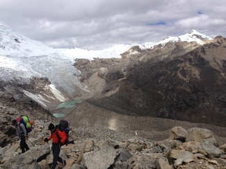 making our way to basecamp